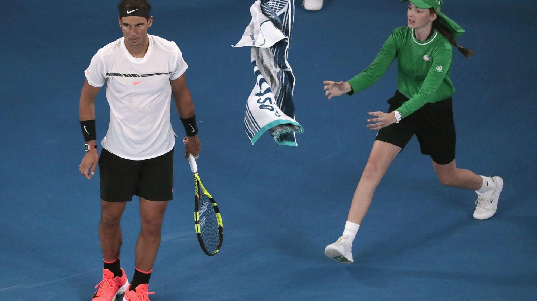 En el Next Gen ATP Finals de Milan no habrá recogepelotas entregando la toalla a los jugadores. (Reuters)