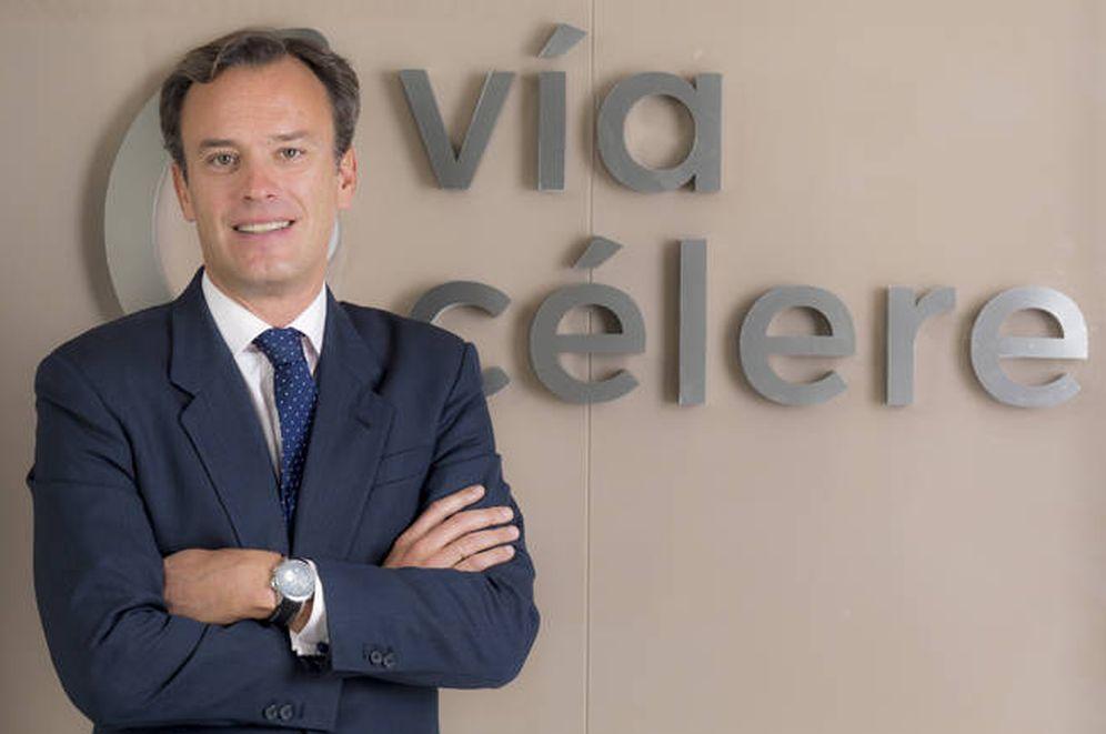 Foto: Borja Fernández Espejel ha dejado la dirección financiera de Vía Célere.