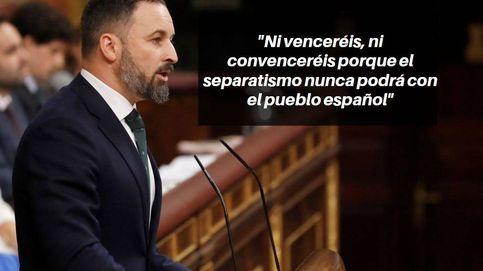 Las frases de Santiago Abascal en la investidura: No apoyaremos a la marioneta
