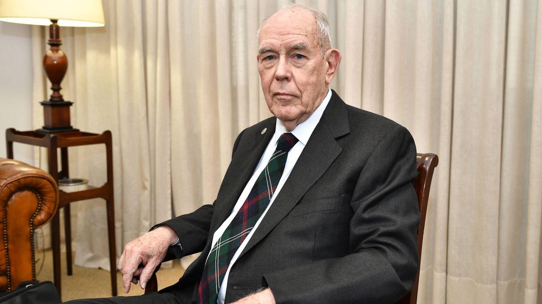 Sutherland, durante la entrevista en Bilbao. (FBBVA)