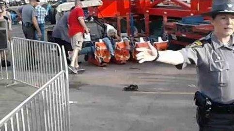 Un muerto y siete heridos en una atracción de feria de Ohio
