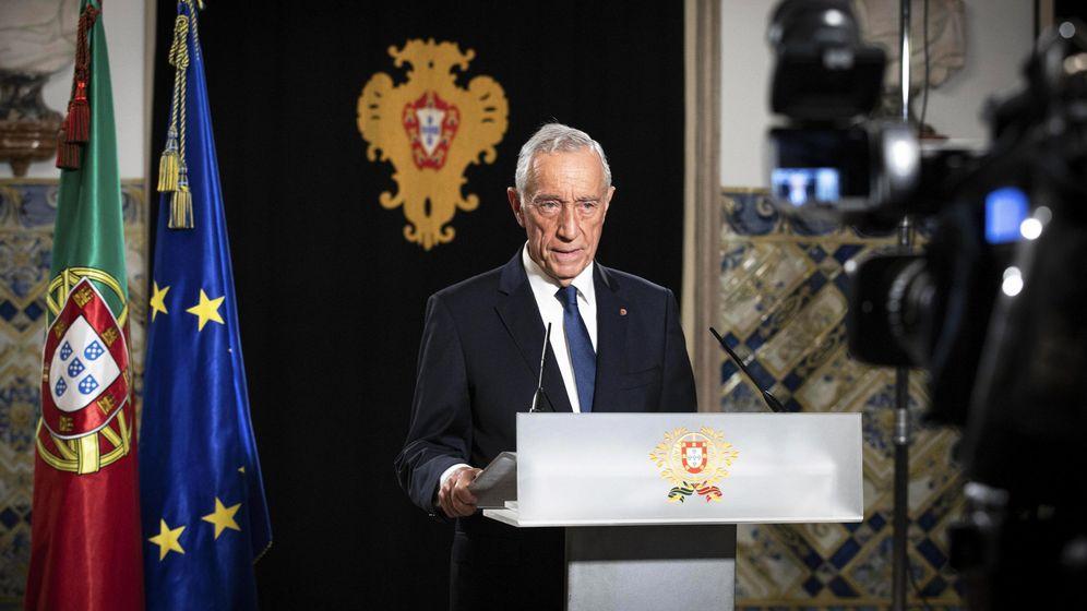 Foto: El presidente de Portugal, Marcelo Rebelo de Sousa. (Reuters)