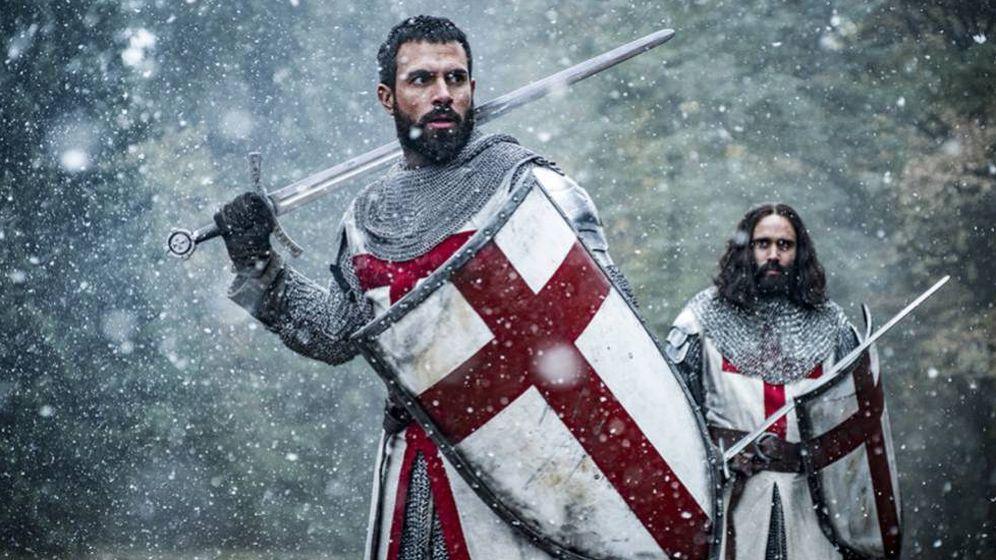Foto: Imagen del tráiler de la serie 'Knightfall', emitida por HBO España.