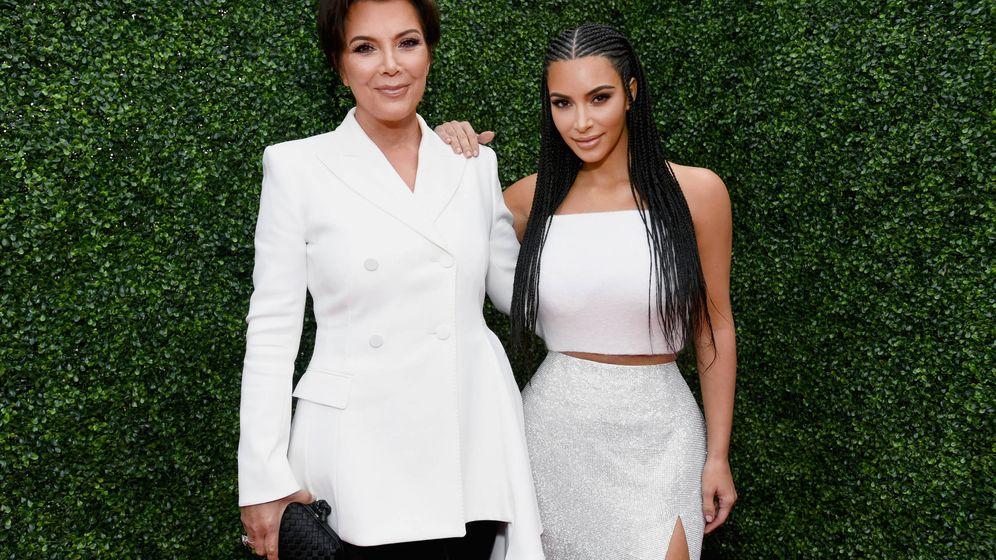 Foto: Kris Jenner, junto a Kim Kardashian. (MTV)
