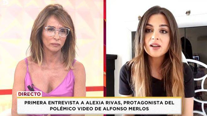 Alexia Rivas, abochornada por María Patiño al saltarse el confinamiento para vivir con Alfonso Merlos