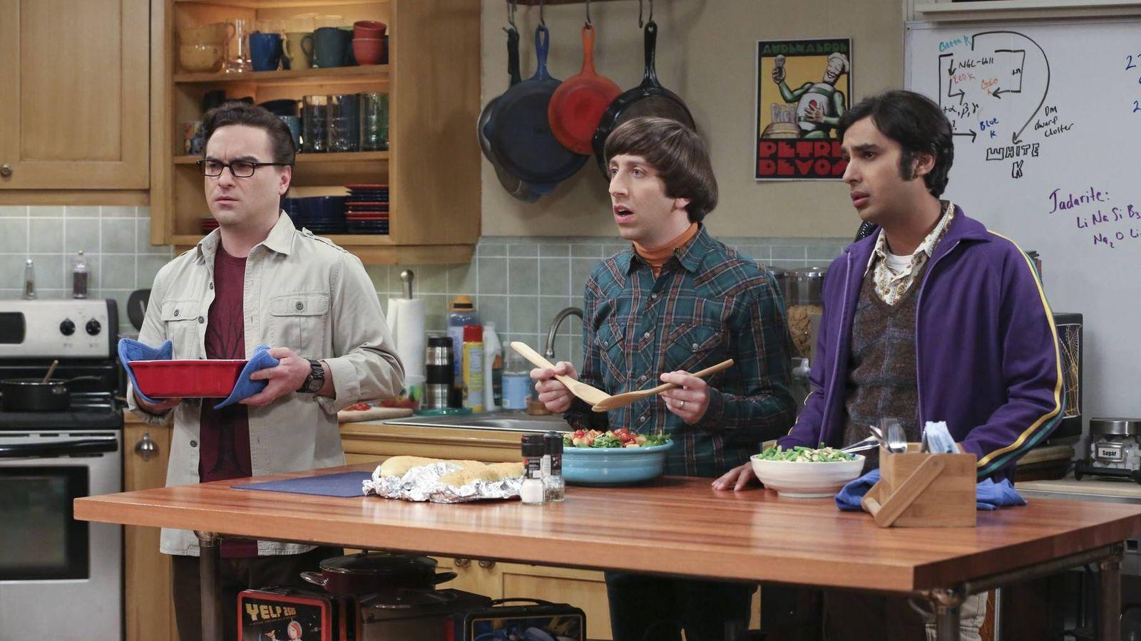 Foto: Una imagen de 'The Big Bang Theory'.