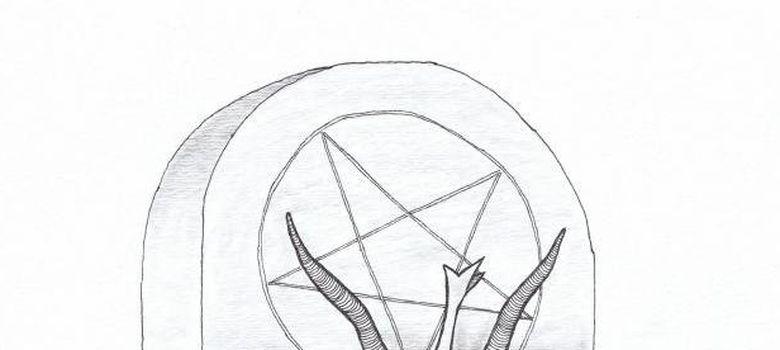Foto: Boceto de la estatua satánica que planean erigir en el capitolio de Oklahoma. (Corbis)