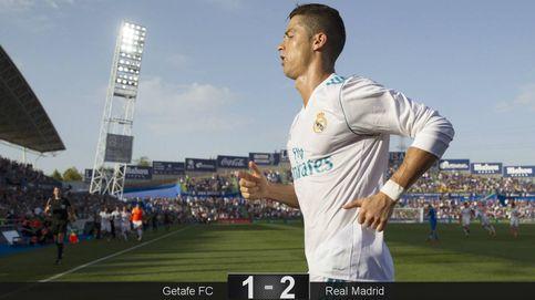 Cristiano e Isco salvan los platos en un partido tedioso del Real Madrid en Getafe