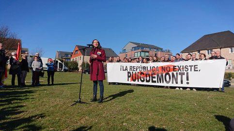 Arrimadas en Waterloo: Venimos a hacer lo que el Gobierno de España no hace