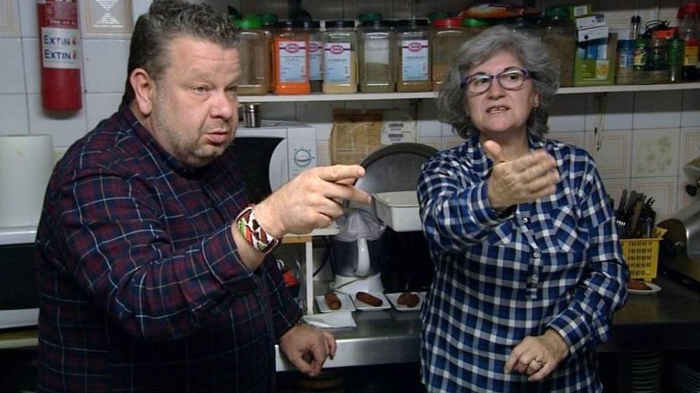 Foto: Alberto Chicote con la polémica dueña del Café Zamora