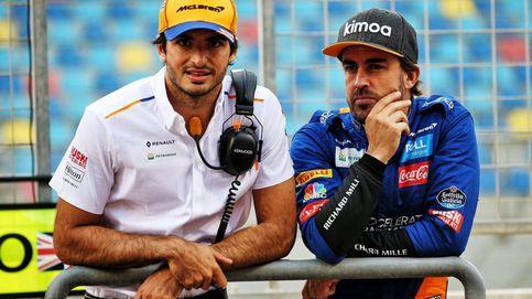 Fernando Alonso y Carlos Sainz en la Fórmula 1 que nunca se ha visto antes en España