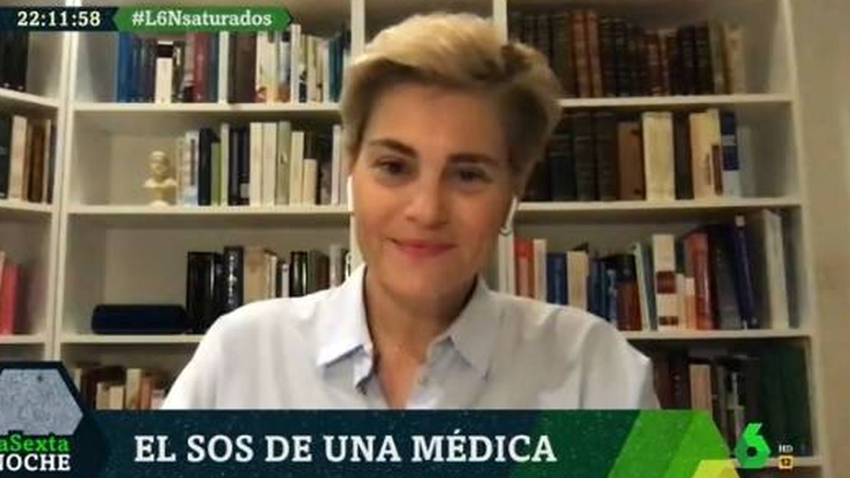 Medina, hablando para 'La Sexta noche'. (Atresmedia).