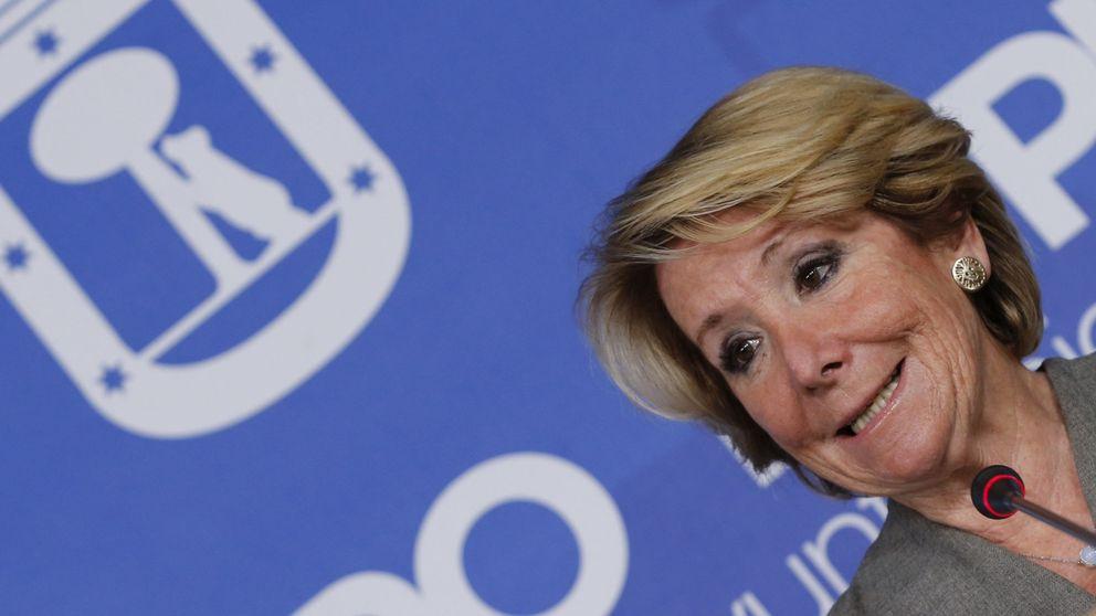 Aguirre: No ha habido que yo sepa financiación ilegal del PP de Madrid