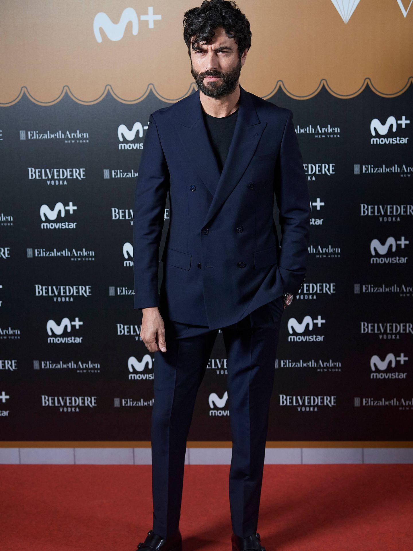 Javier Rey, en el estreno de 'Velvet Colección'. (Limited Pictures)