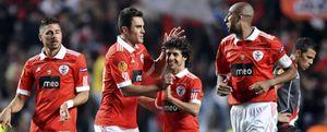 El Benfica logra una pírrica ventaja frente a un serio Braga