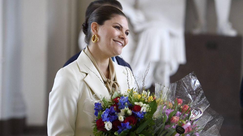Foto: Victoria de Suecia en su último acto público (Cordon Press)