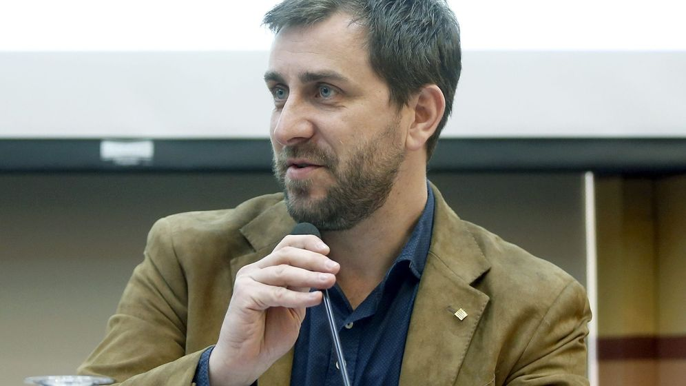 Foto: El 'exconseller' de Sanidad de la Generalitat Toni Comín. (EFE)