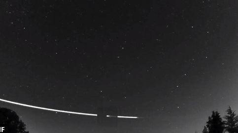 Las extrañas imágenes del meteorito que ha rebotado en la atmósfera de la Tierra