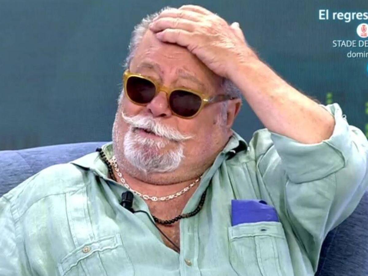 Foto: Arévalo, en 'Viernes Deluxe'. (Telecinco).