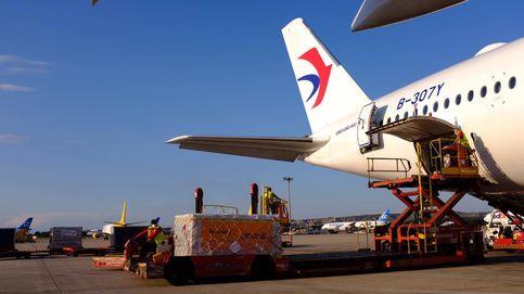 Aterriza en Madrid un avión con 620.000 mascarillas