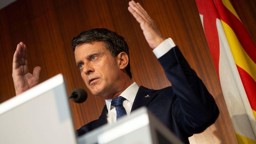 Valls critica que Cs ponga un cordón sanitario a Sánchez y no a Vox