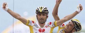 Piepoli gana, Evans nuevo líder y Valverde tira el Tour