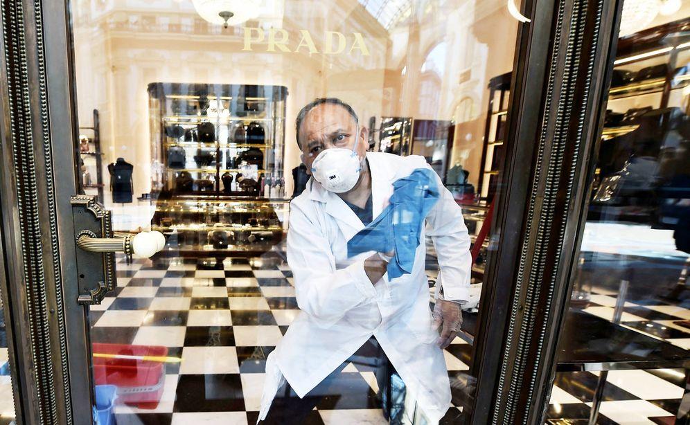 Foto: Tienda de Prada en Milán. (Reuters)