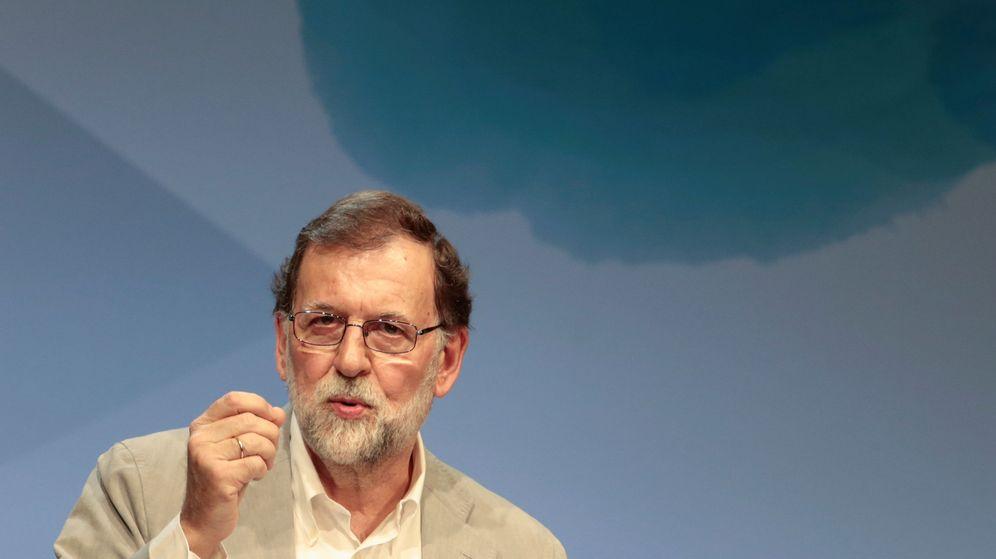 Foto: El presidente del Gobierno, Mariano Rajoy, durante un acto del PP en Palma de Mallorca. (Reuters)