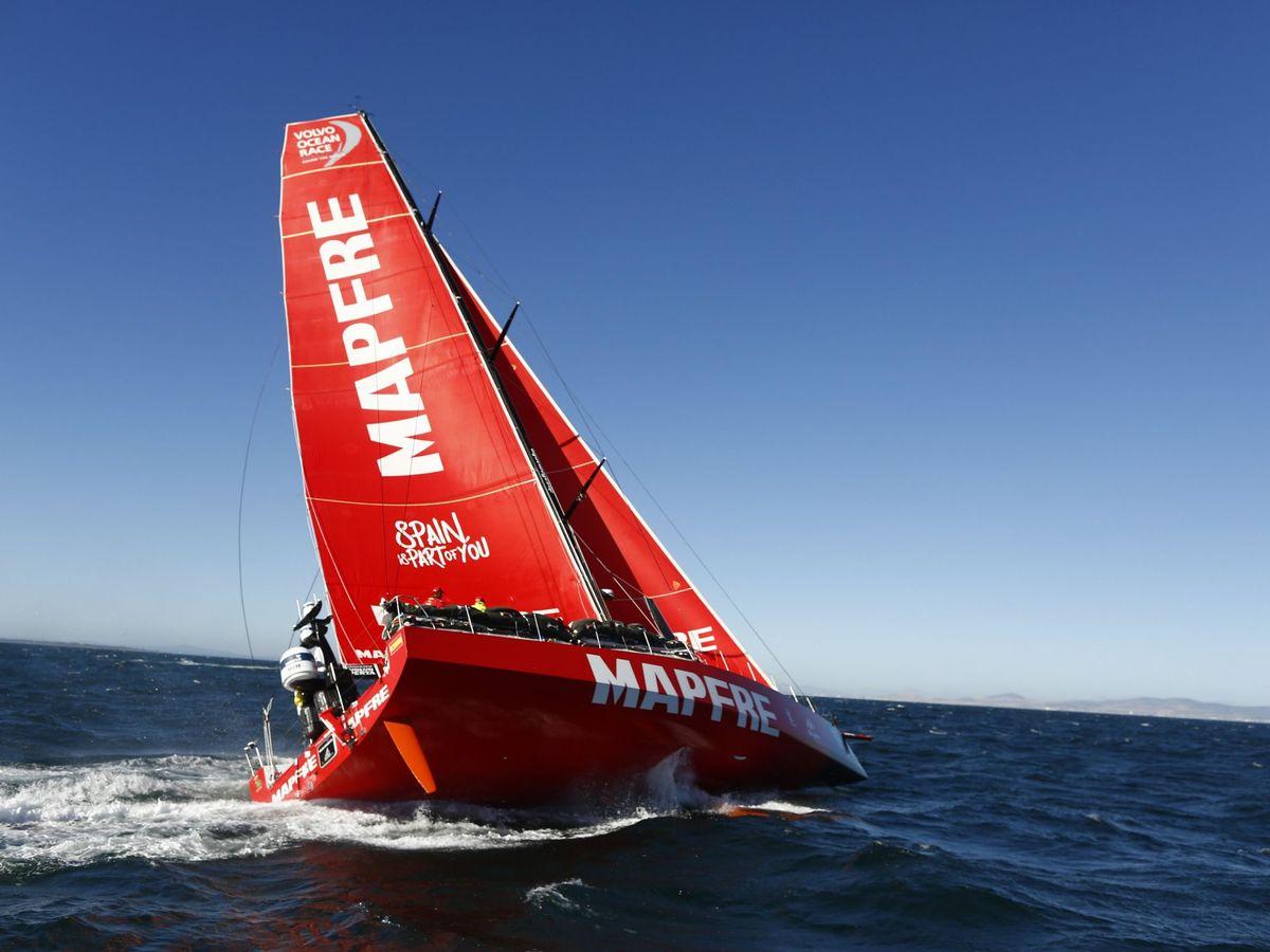 Foto: Un barco patrocinado por Mapfre. (EFE)