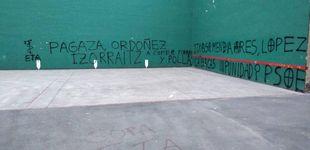 Post de Aparecen pintadas amenazantes contra víctimas de ETA y dirigentes del PSE