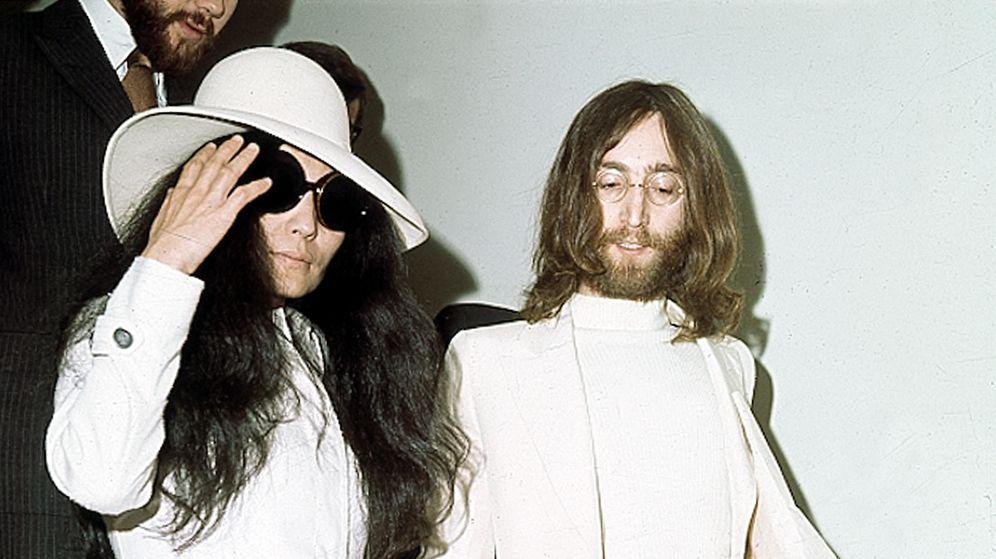 Foto: Yoko Ono y John Lennon en 1969 (Gtres)