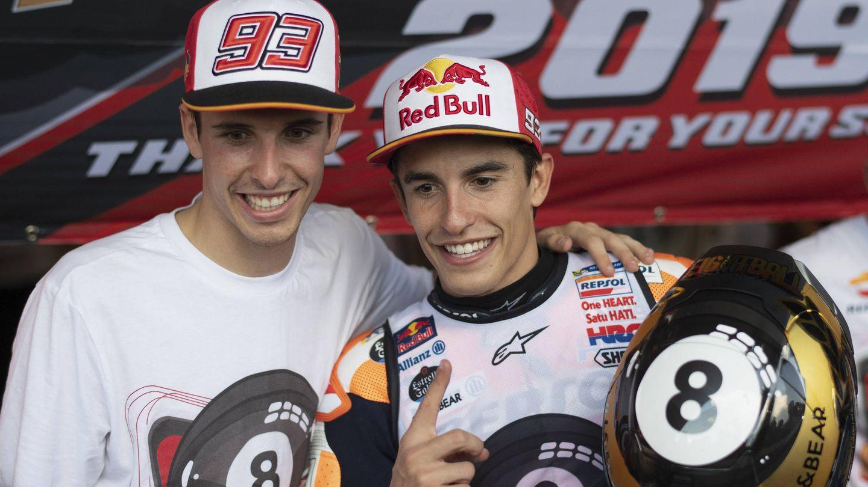 Álex y Marc, la saga fraternal más exitosa de la historia del motociclismo. (Getty)