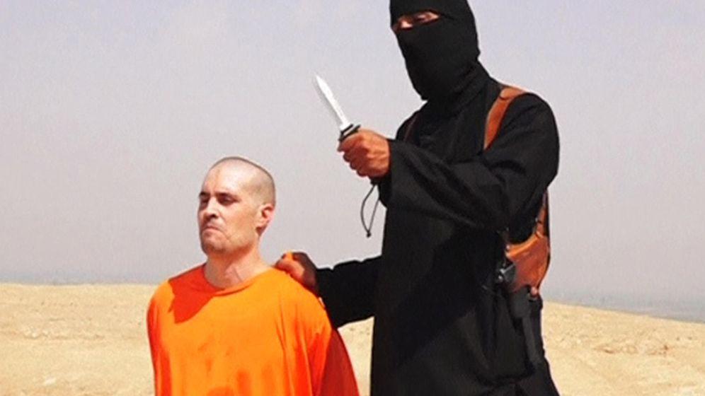 Foto: Captura del vídeo, difundido por Estado Islámico, de la decapitación de James Foley. (Reuters)