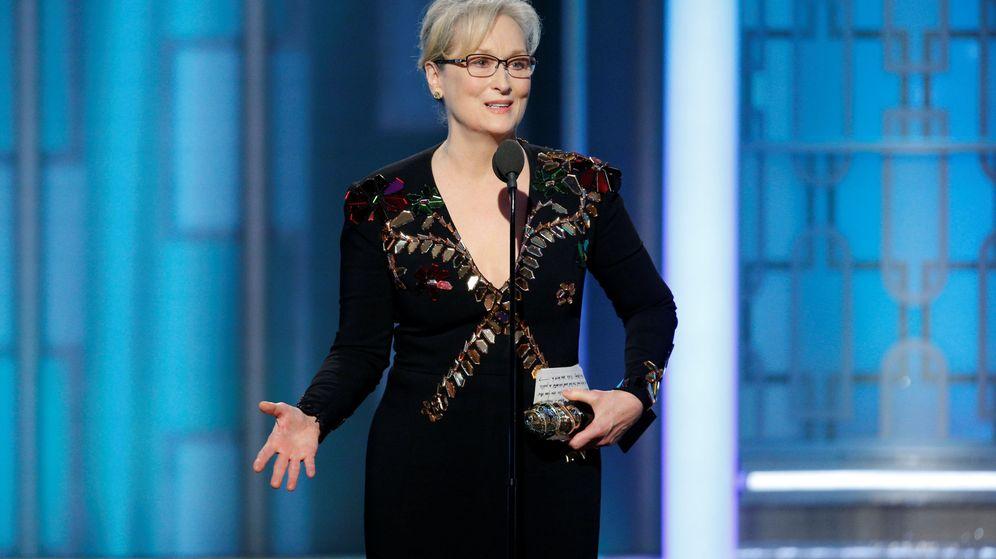 Foto: Meryl Streep lanza un dardo a Donald Trump. (Reuters)