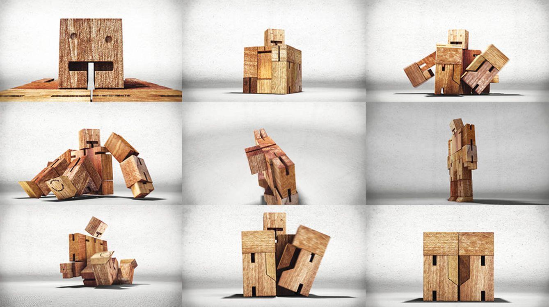 Foto: Cubetot se caracteriza por adoptar las formas más inverosímiles.