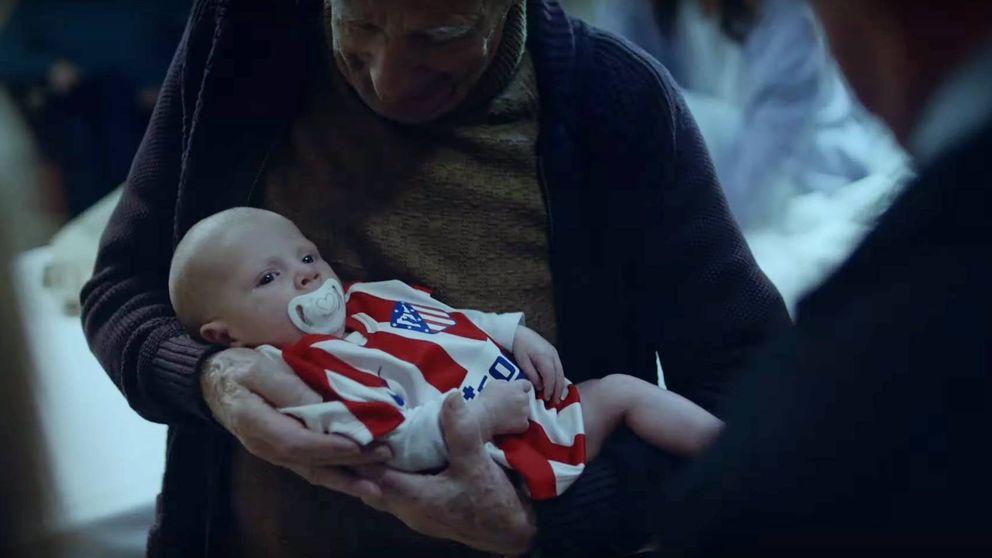 El emotivo anuncio navideño del Atlético: dos abuelos, dos equipos y un bebé