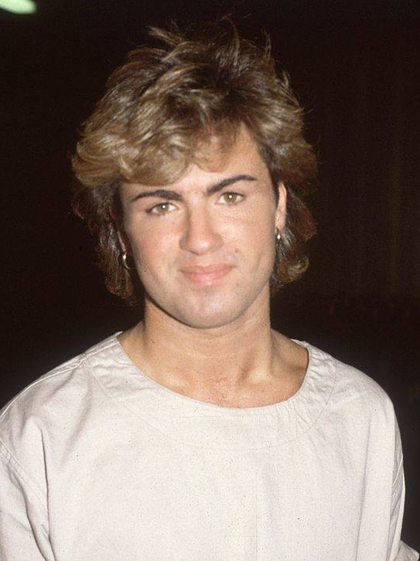 George Michael, en 1984. (Getty)