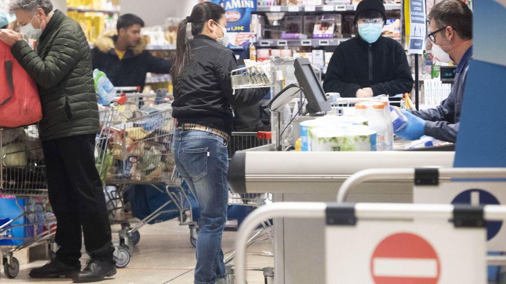 Los supermercados descartan el riesgo de desabastecimiento por coronavirus