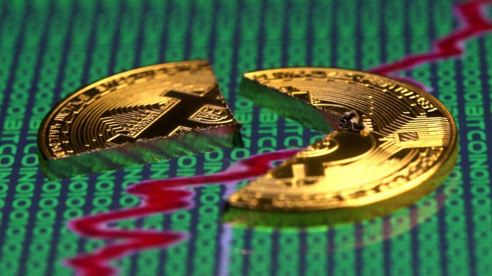 Foto: Representación bitcoin. (Reuters)