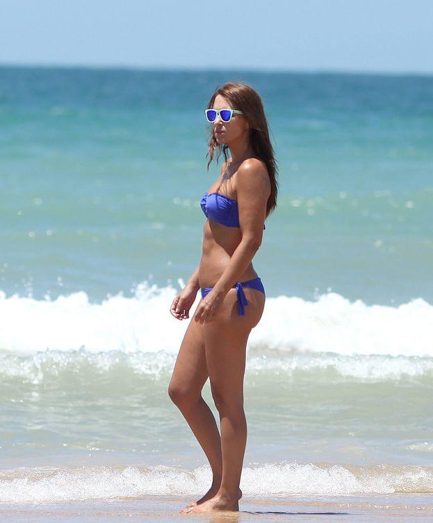 Foto: Paula Echevarría en las vacaciones de 2015.(CORDON)