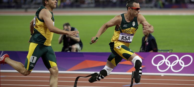 Foto: Oscar Pistorius en los Juegos Olímpicos de Londres 2012