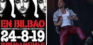 Post de C. Tangana se salta su veto y actuará (gratis) en Bilbao: