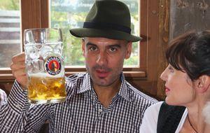 Guardiola disfruta del Oktoberfest
