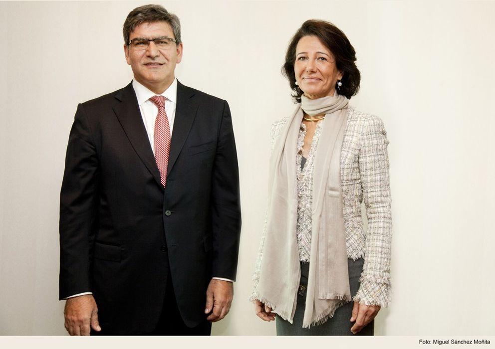 Foto: El nuevo CEO del Santander y Ana Patricia Botín (Foto: Banco Santander)