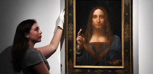 Post de El verdadero rostro del 'Salvator Mundi' de Da Vinci que pone en duda su autenticidad