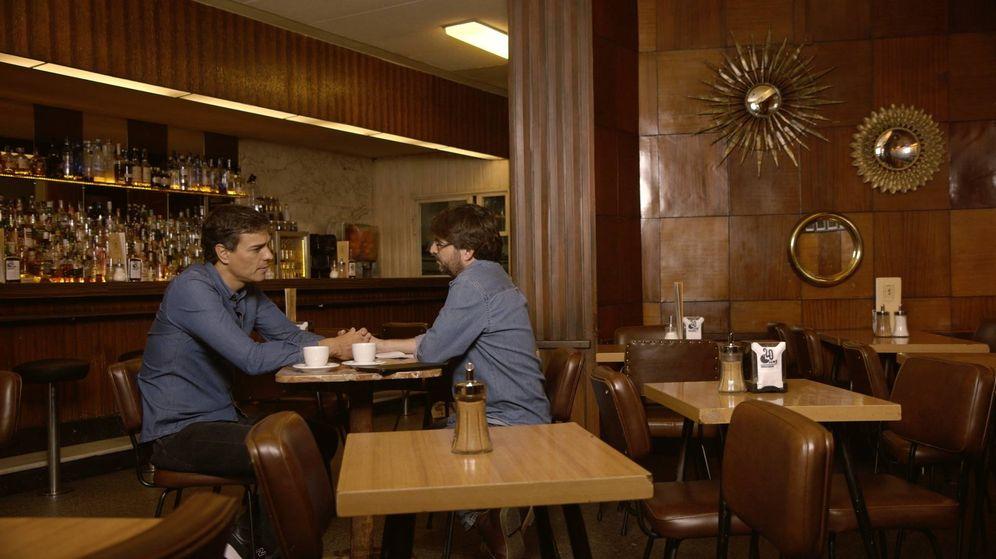 Foto: Pedro Sánchez, durante su entrevista con Jordi Évole en 'Salvados', en La Sexta, este 30 de octubre de 2016. (L6)