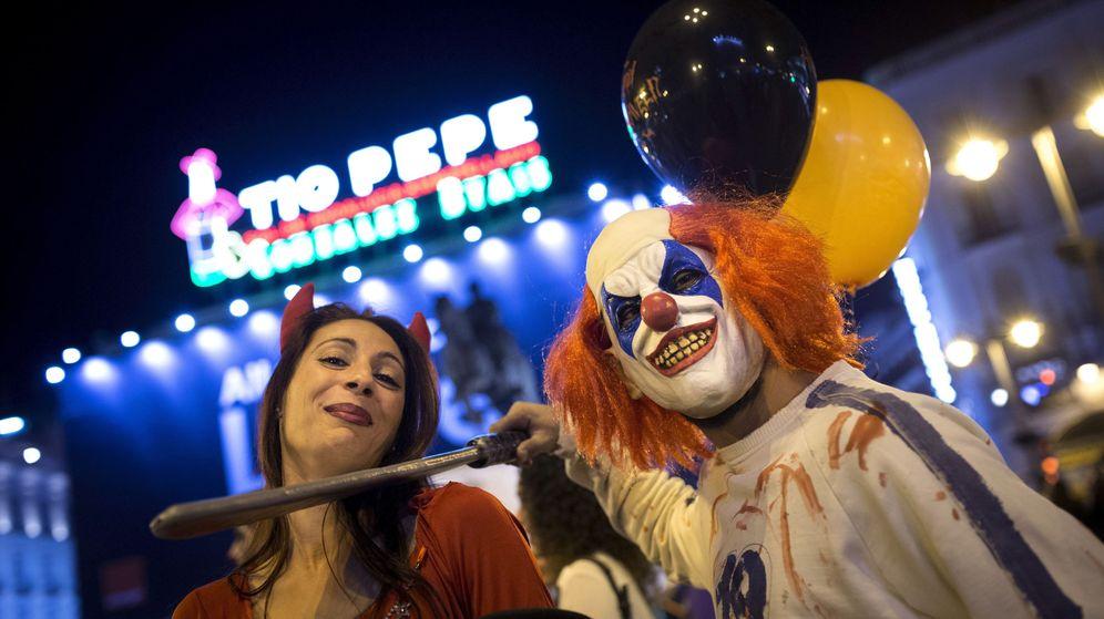 Foto: Noche de Halloween de 2016 en Madrid. (EFE)