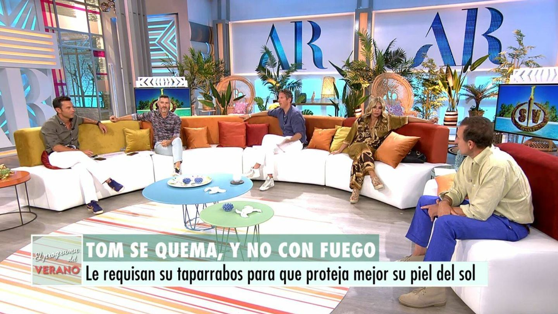 Plató de 'El programa del verano'. (Mediaset España)