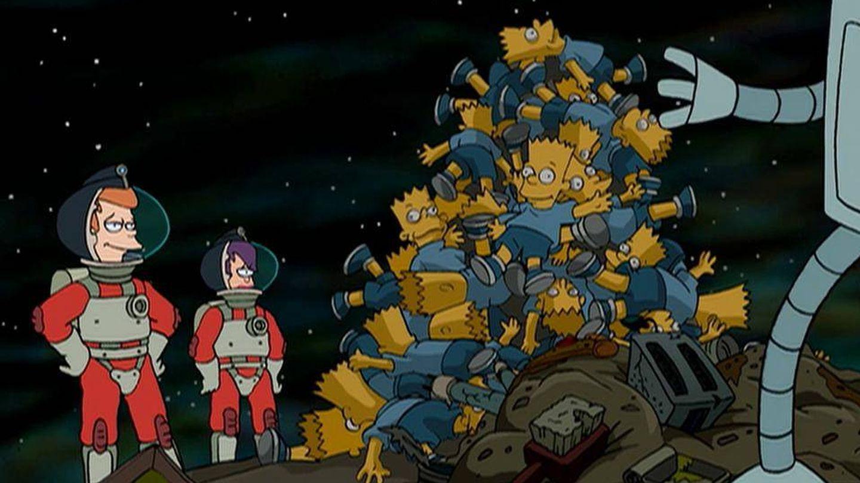 La basura es una pila de muñecos de Bart Simpson.