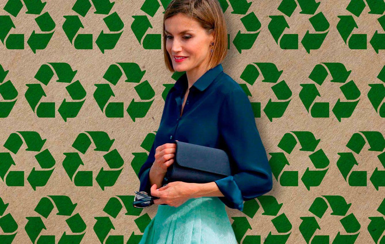 Foto: La Reina Doña Letizia en un fotomontaje realizado por Vanitatis